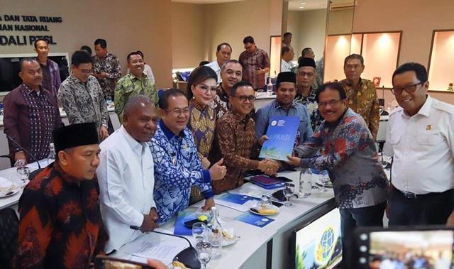 Audiens dengan Kementerian ATR/BPN, Tetty : Peluang Investasi di Minsel beragam