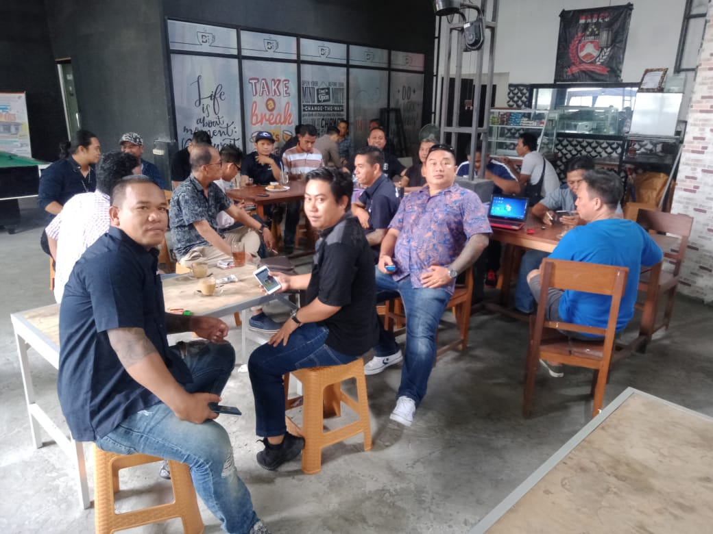 Komitmen kawal GSVL Voor Sulut 1, Tim Rajawali restrukturisasi pengurus