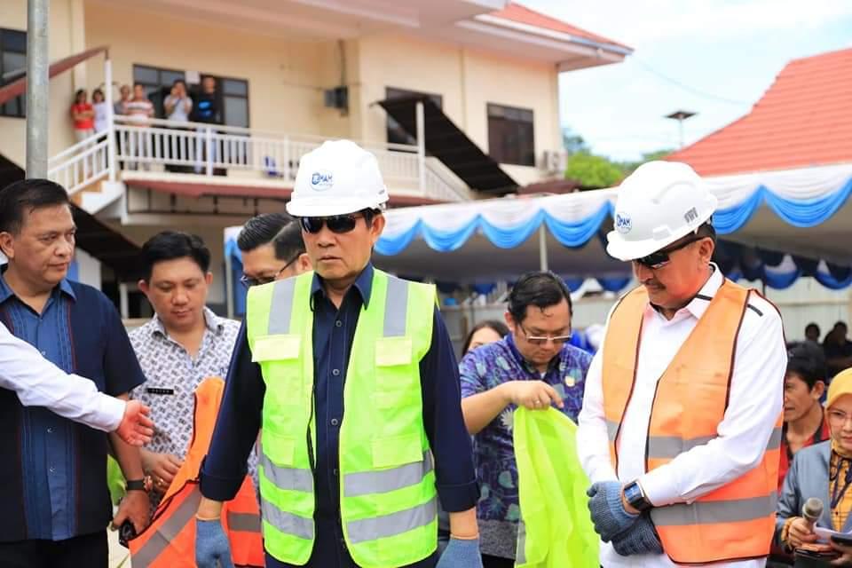 Ground Breaking RSUD Manado, GSVL : Ini sejarah dalam pelayanan kesehatan