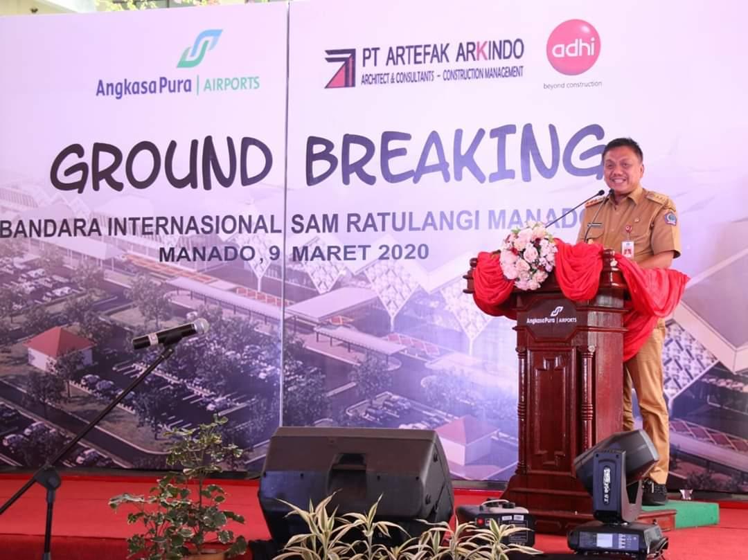 Permalink ke Olly Canangkan Ground Breaking Perluasan Bandara Sam Ratulangi