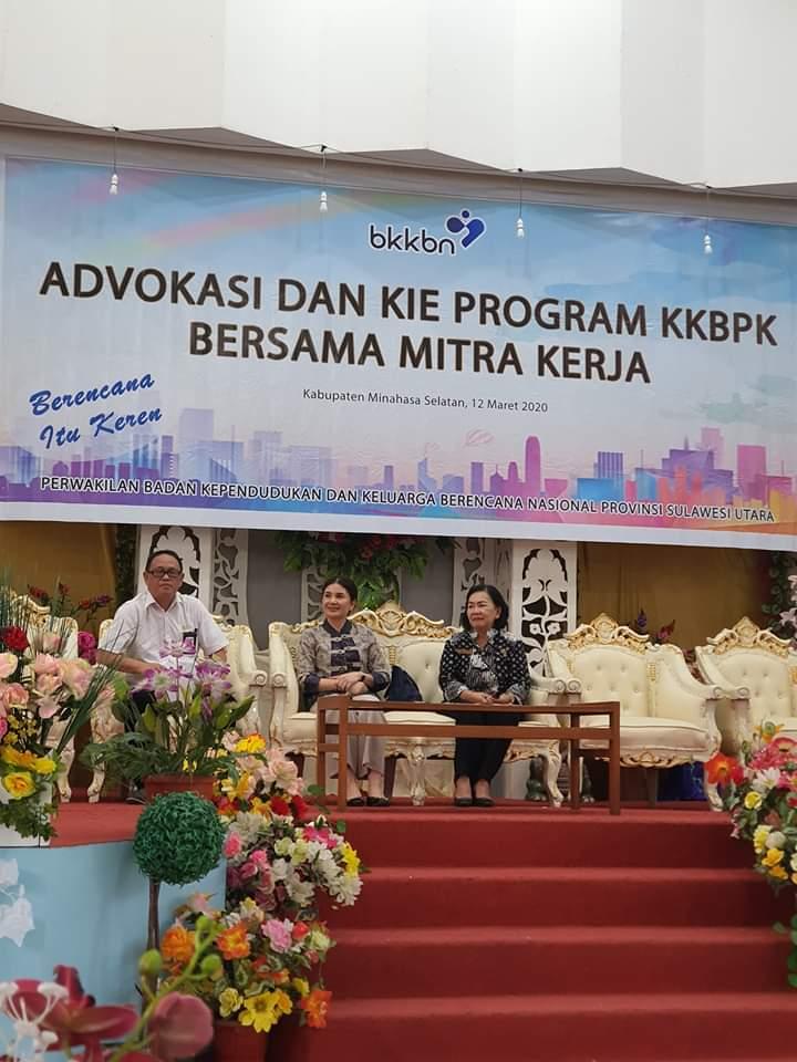 Permalink ke Ketua Komisi IX DPR-RI Hadiri Sosialisasi Program KKBPK Bersama Mitra Kerja di Kabupaten Minsel