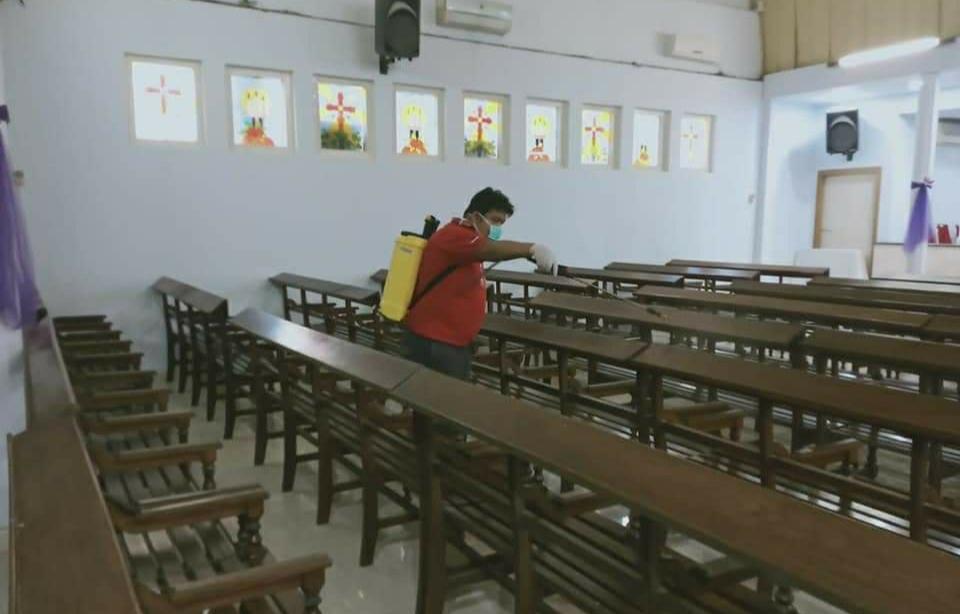 Permalink ke Satgas COVID-19 Lakukan Penyemprotan Disinfektan di Sejumlah Tempat Ibadah