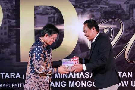 LKPD 2019 diterima BPK-RI, GSVL optimis Kota Manado raih WTP