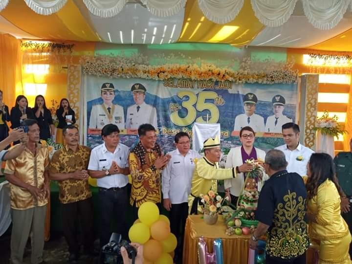 Permalink ke HUT ke-35 Desa Kotamenara, Tetty Ingatkan Pesan Jokowi