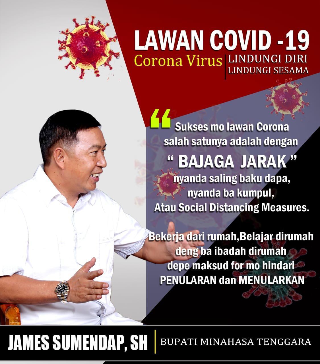 Permalink ke Pemkab Mitra Himbau Dan Warning Cegah Penyebaran Covid-19