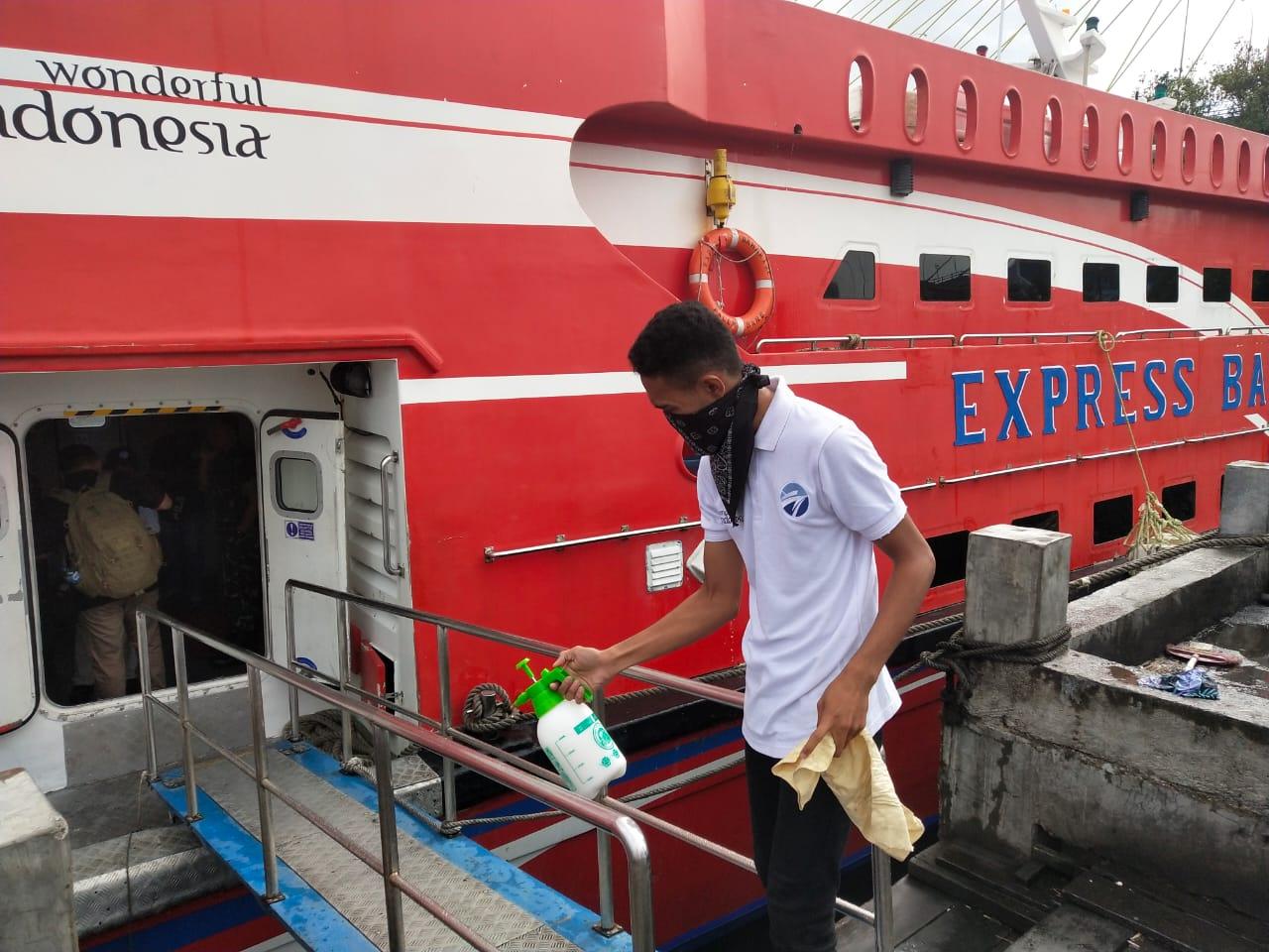 Permalink ke Hindari Corona Virus KM Express Bahari 2E Tetap Steril