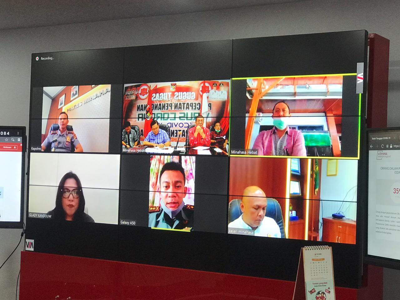 Permalink ke Rapat Forkopimda, ROR Manfaatkan Video Conference