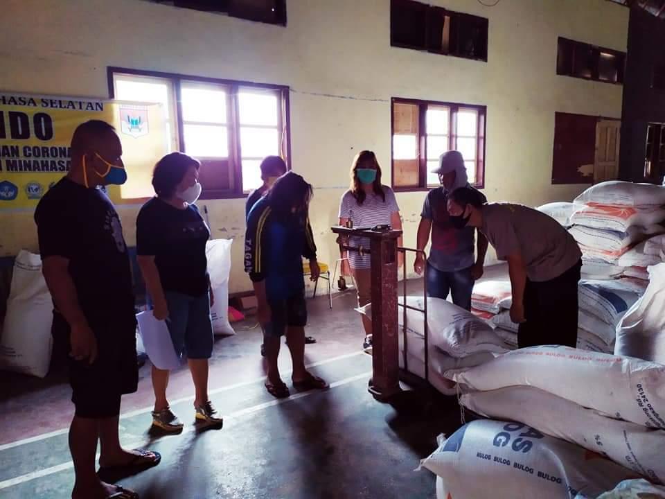 Permalink ke Dampak Covid-19, Bantuan 100 Ton Beras Dari Pemerintah Pusat Mulai di Salurkan Pemkab Minsel