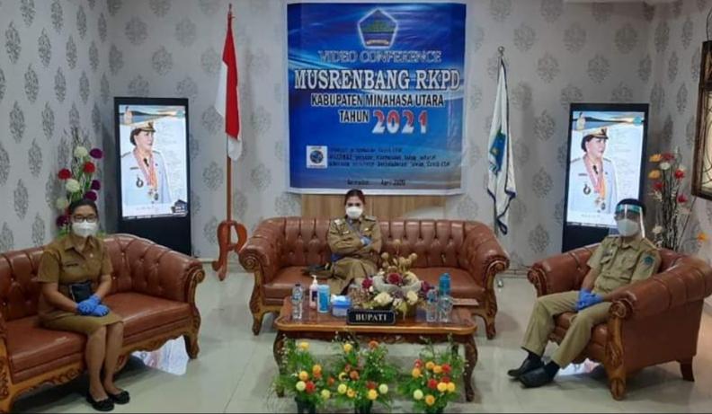 Permalink ke Bupati Minut Ikuti Musrenbang RKPD Tahun 2021 Provinsi Sulut Lewat Vidio Conference