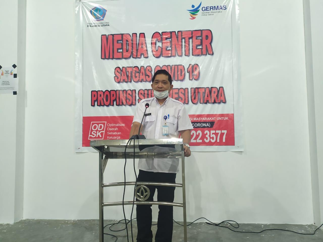 Permalink ke 1 April, Pasien COVID-19 di Sulut Berjumlah 3 Orang