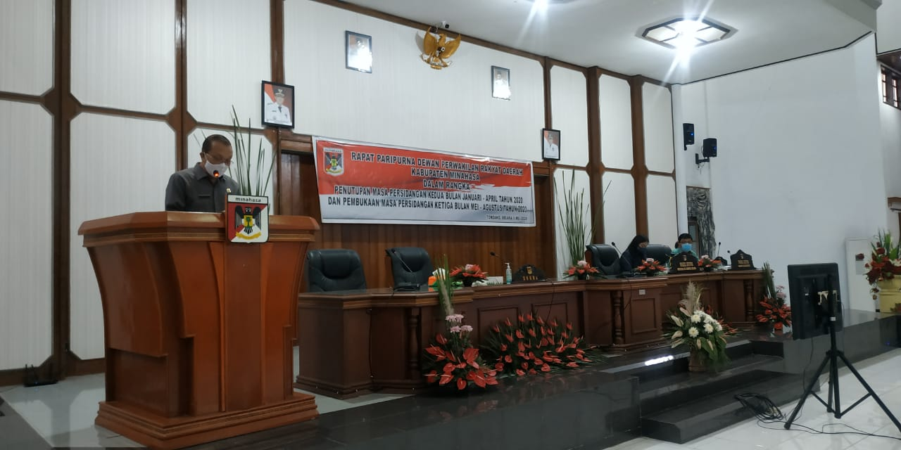 Permalink ke Wakili Bupati, Muntu Hadiri Rapat Paripurna DPRD Minahasa