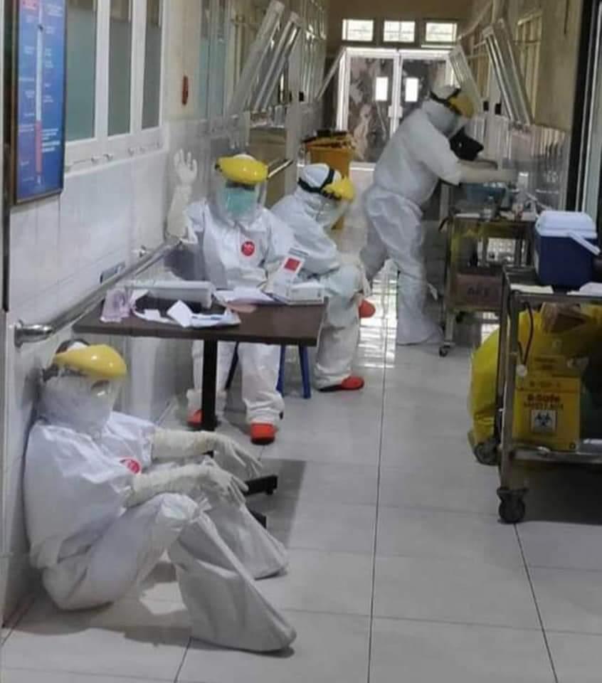 """Permalink ke Sulut """"Krisis"""" Tenaga Paramedis, 33 Perawat, 15 Dokter Positif COVID-19"""