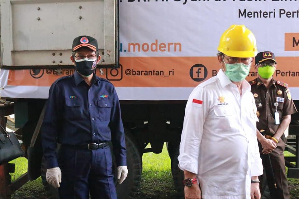 Ekspor Komoditas Pertanian Sulut ke 11 Negara, Walikota Manado damping Mentan SYL