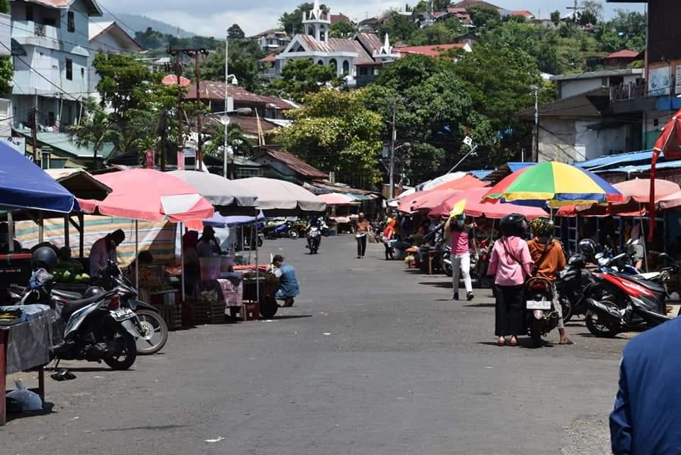 Permalink ke Cluster Pasar Pinasungkulan, Hasil Rapid Tes 80 Orang Reaktif