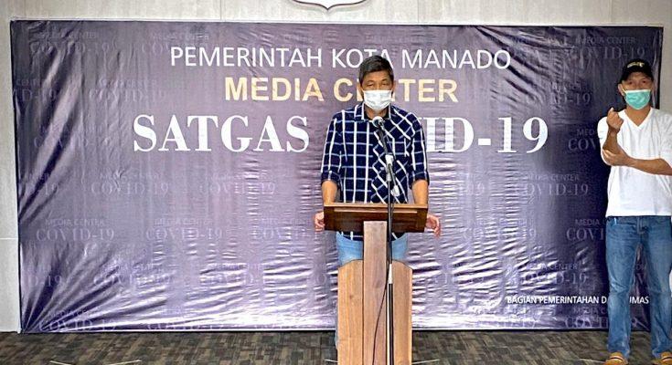 Pemkot Manado terima bantuan APD, Jubir Satgas Covid-19 : terima kasih Pemprov Sulut