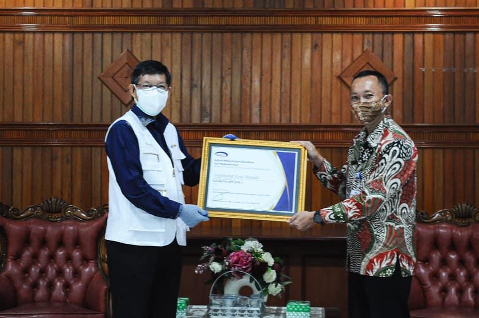 Permalink ke Kapabilitas APIP dari BPKP, Pemkot Manado Raih Level 3