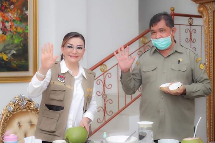 Bupati Minsel Terima Kunjungan Kepala Balit Palma Kantor Kementerian Pertanian Sulut