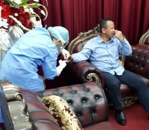 Permalink ke Masuk Manado, Prabowo Langsung Rapid Test
