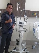 Permalink ke Gubernur Olly Dondokambey Sumbang Ventilator Untuk RS Awaloei