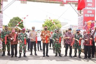 Bersama Gubernur dan Kapolda Sulut, ROR Canangkan Kampung Tangguh Nusantara