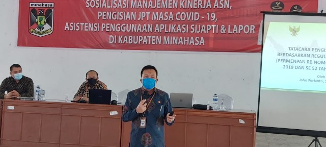 Permalink ke Wakili Bupati, Tanor Terima Kunjungan Komisi ASN