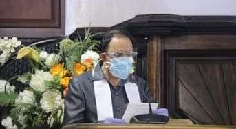 Permalink ke Didampingi Istri, ROR Beribadah Minggu di Jemaat Bumorik Rike