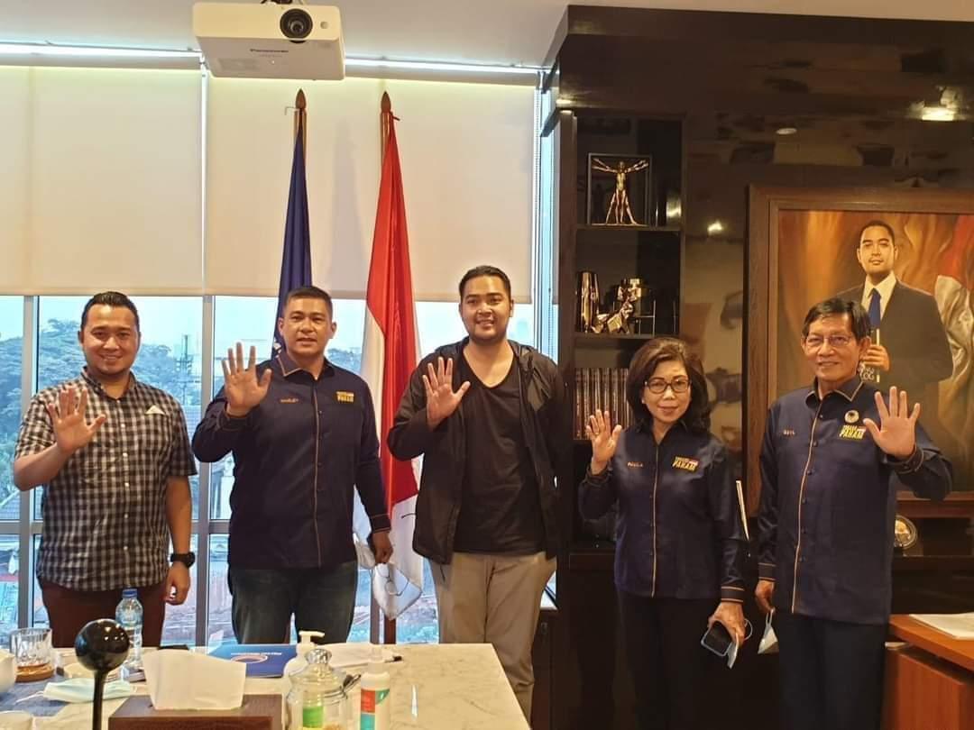 Permalink ke Kantongi Form B.1-KWK Partai Nasdem, JPAR-Ai Siap Hadapi Pilkada Manado