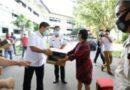 Kandouw Salurkan 2.500 Paket Balasa Bagi Pelaku Parekraf Sulut