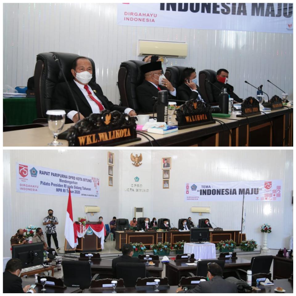 Permalink ke Rangkaian HUT RI, Wali Kota MJL Dengarkan Pidato Presiden