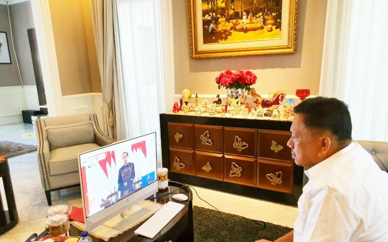Permalink ke Dihadiri Olly, Jokowi Pidato di Aksi Nasional Pencegahan Korupsi