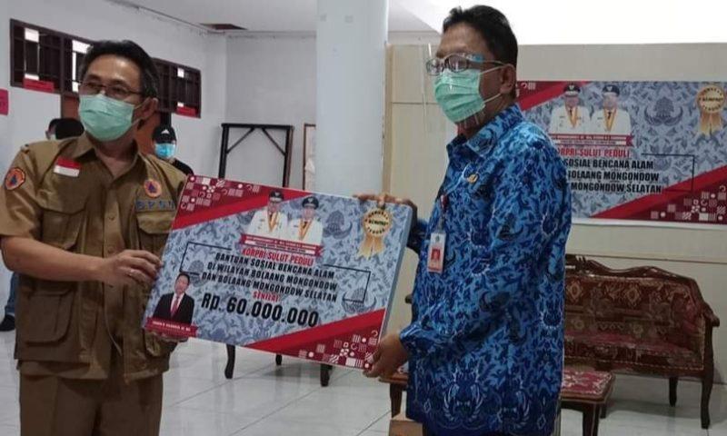 Korpri Sulut Bantu Korban Bencana Bolmong Raya
