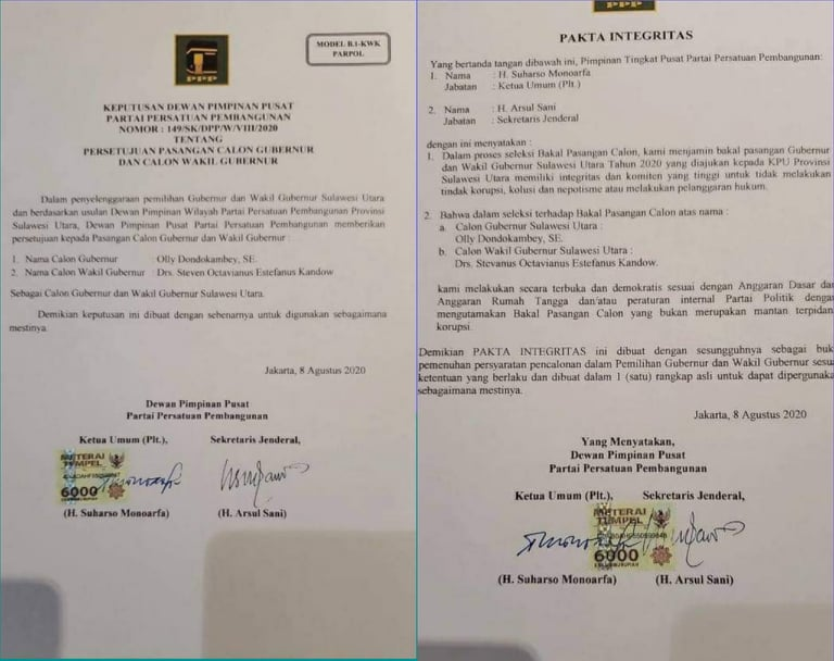 Permalink ke Keputusan DPP PPP Dukung Olly Dondokambey – Steven Kandouw