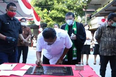 Permalink ke Olly Dondokambey: Pembangunan di Sulut tak lepas dari dukungan GMIM