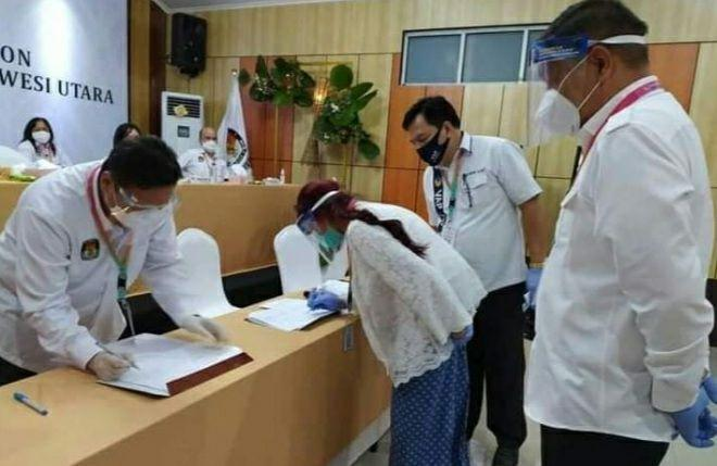 Permalink ke Berkas Pendaftaran VAP-HR Diterima KPU Sulut