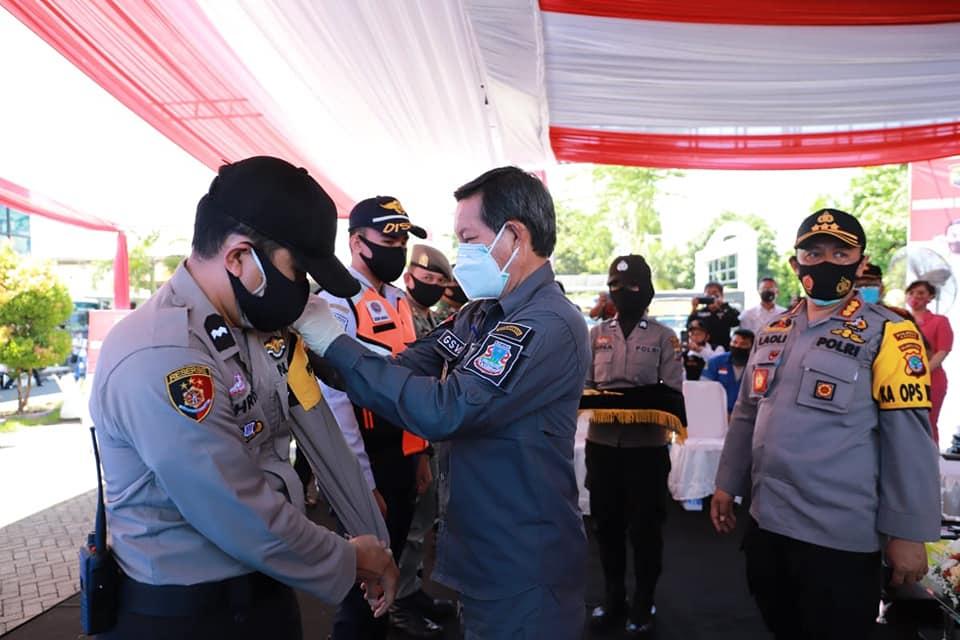 Permalink ke Gerakan sejuta masker Polres Manado, GSVL : Bersama putus mata rantai covid-19