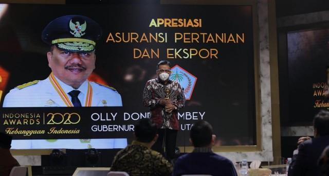 Permalink ke Majukan Pertanian dan Ekspor Sulut, Olly Sabet Indonesia Award