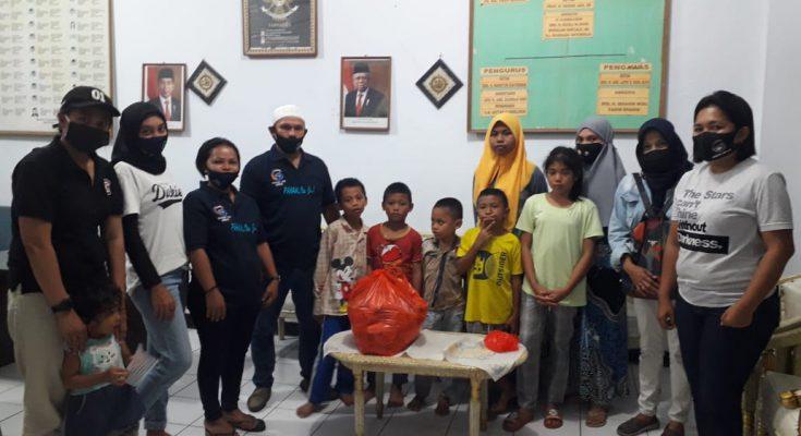 Permalink ke Konsisten bantu masyarakat, Garuda One GSVL bagikan makanan