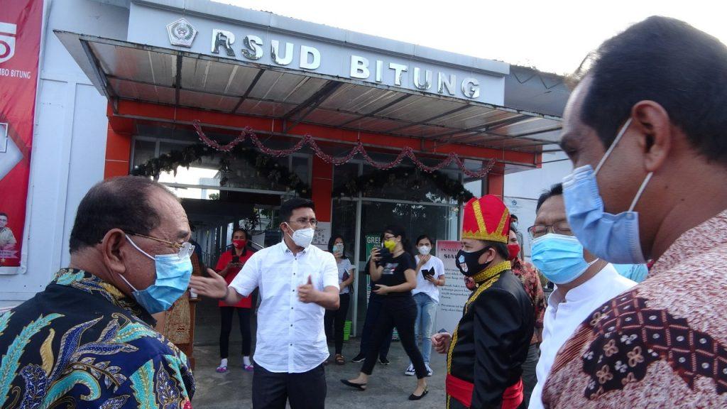 Permalink ke Rumah Sakit Rujukan Covid-19, Agus Fatoni sidak RSUD Bitung