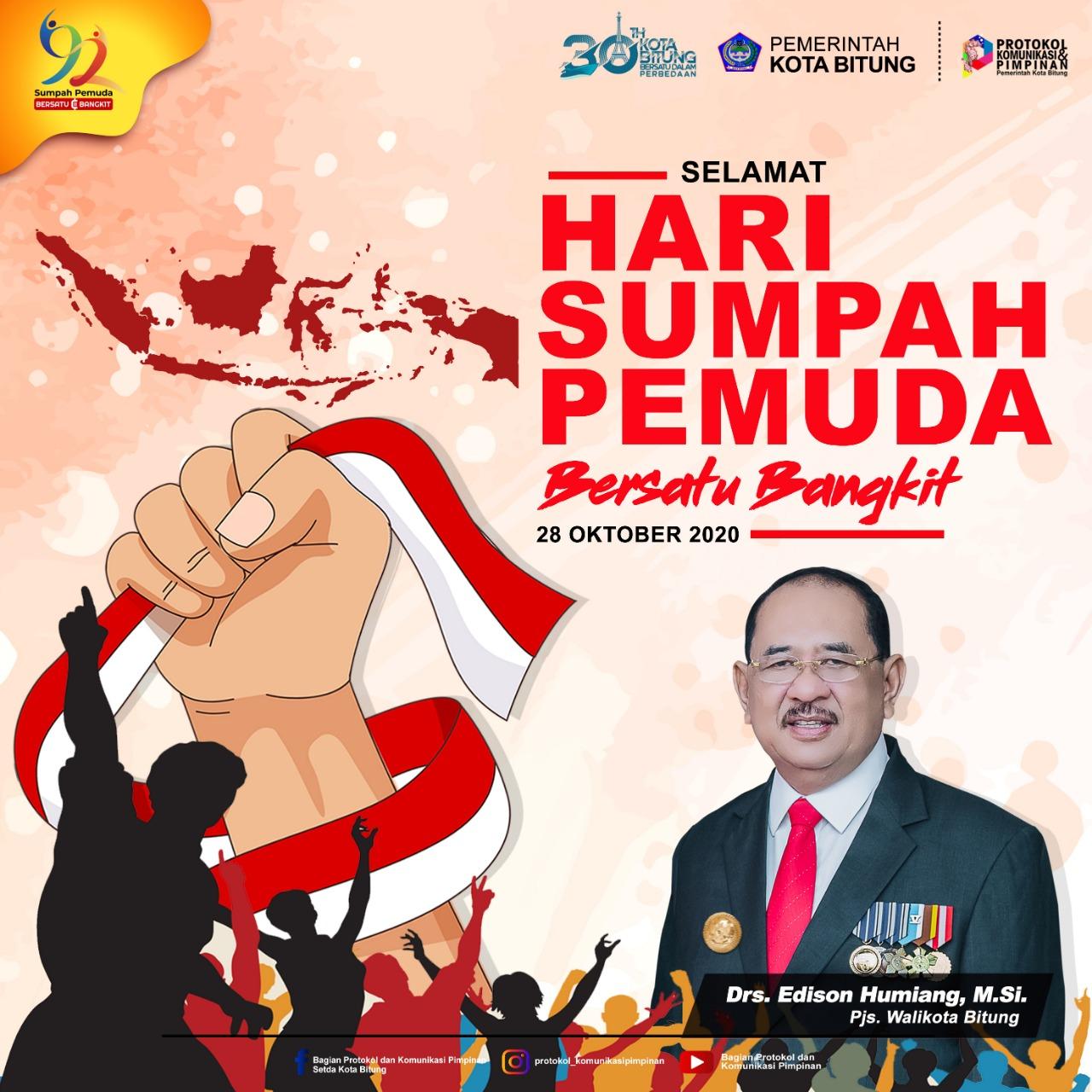 Permalink ke Peringati HSP, Pjs Wali Kota Bitung ajak semua Pemuda Bersatu dan Bangkit