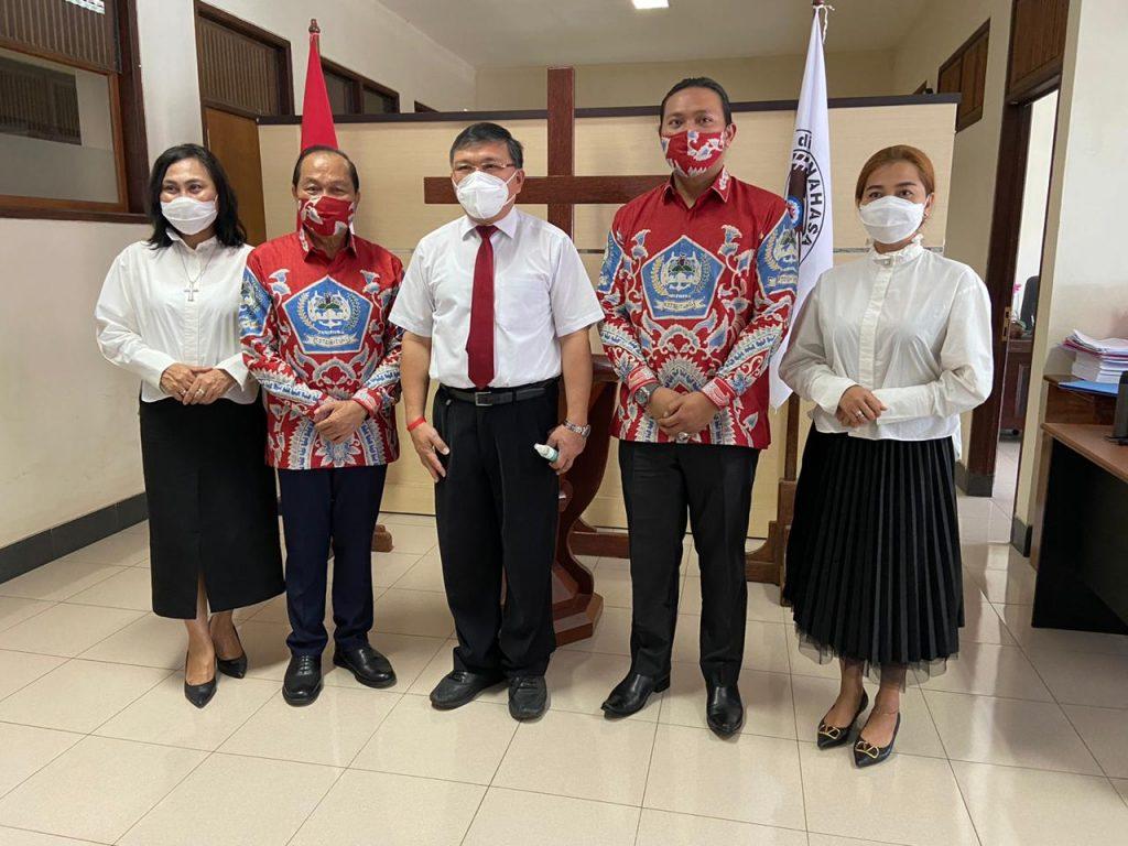 Permalink ke MJL-MDT Didoakan Ketua BPMS GMIM Hain Arina