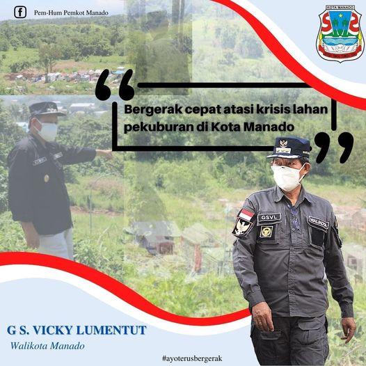 Permalink ke Gerak cepat GSVL atasi krisis lahan pekuburan di Kota Manado