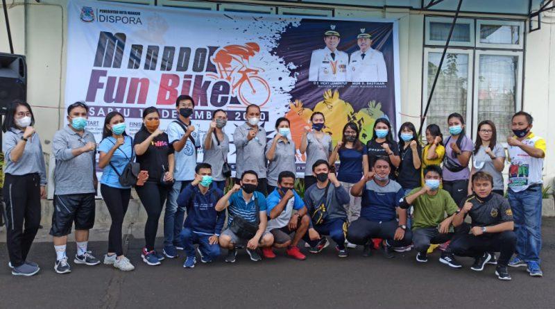 Permalink ke Manado Fun Bike jadi kegiatan pemungkas Dispora Manado tahun 2020