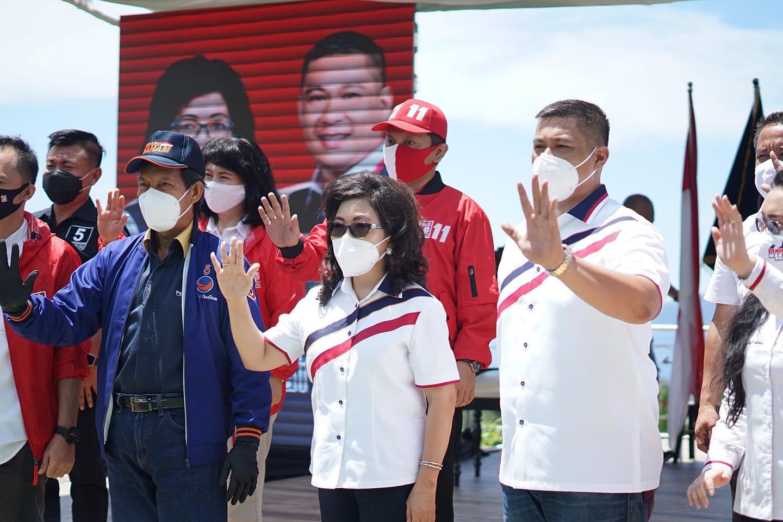 Permalink ke Indo Barometer rilis survey Pilwako Manado, PAHAM menang 39,5 persen