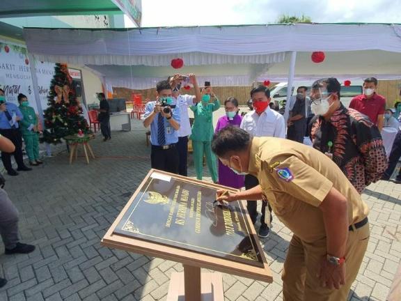 Permalink ke Olly Dondokambey Resmikan Rumah Sakit Umum Hermina Manado