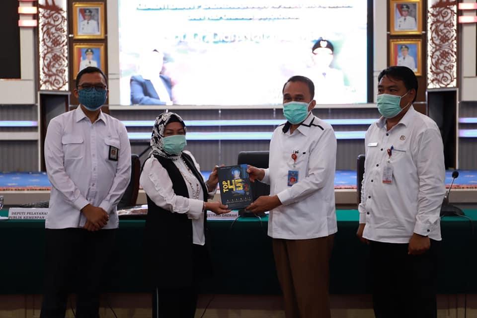 Permalink ke Evaluasi Pelayanan Publik, Deputy KemenPAN-RB sambangi Manado