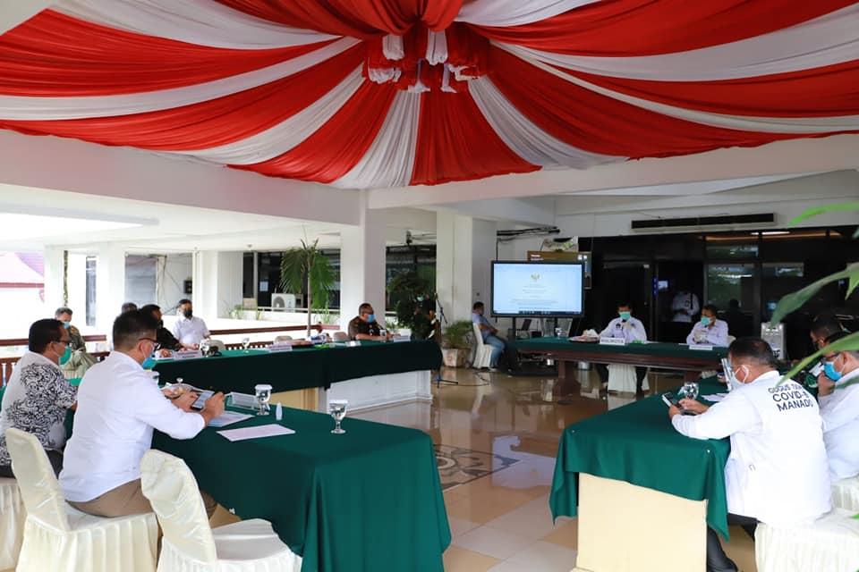 Permalink ke Bersama Forkopimda, GSVL pimpin rakor penegakan hukum protokol kesehatan dalam rangka Pilwako Manado