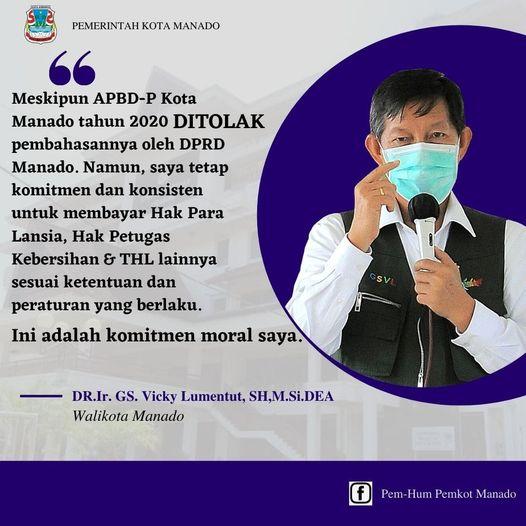 Permalink ke Usaha dan Kerja Keras Stop Penyebaran Covid+19, Walikota GSVL lantik Satgas Lingkungan di Kota Manado