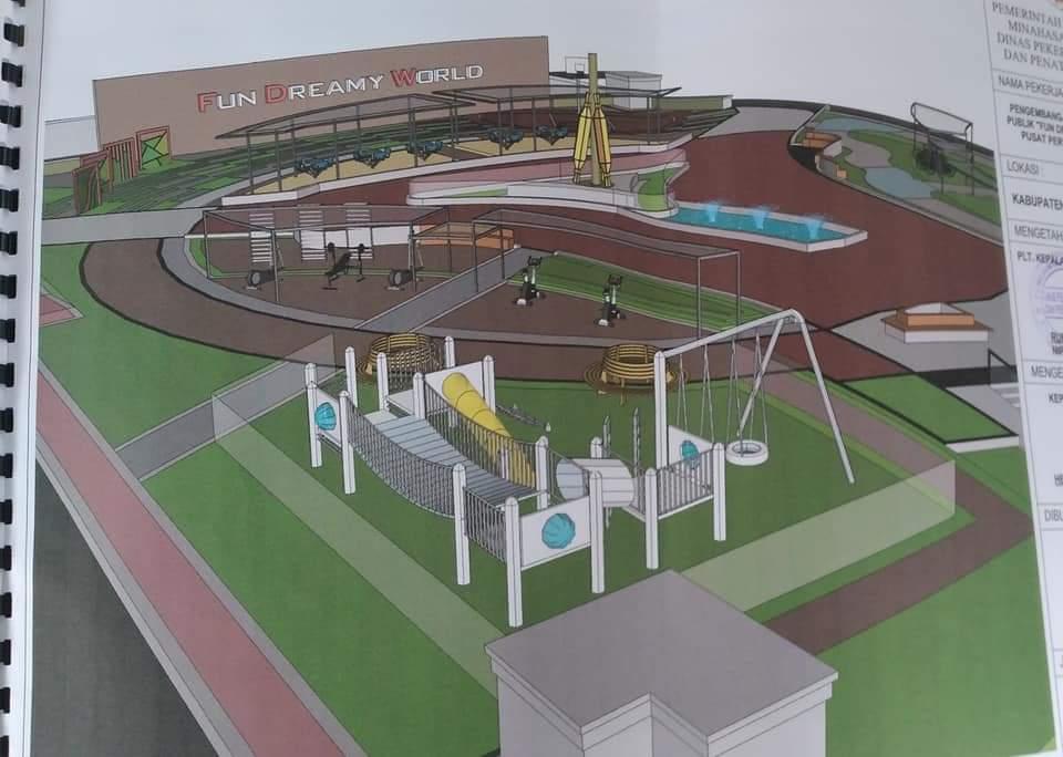 Permalink ke Awal Pemerintahan, FDW-PYR Siap Bangun Taman Fun Dreamy Word di Pusat Kota Amurang