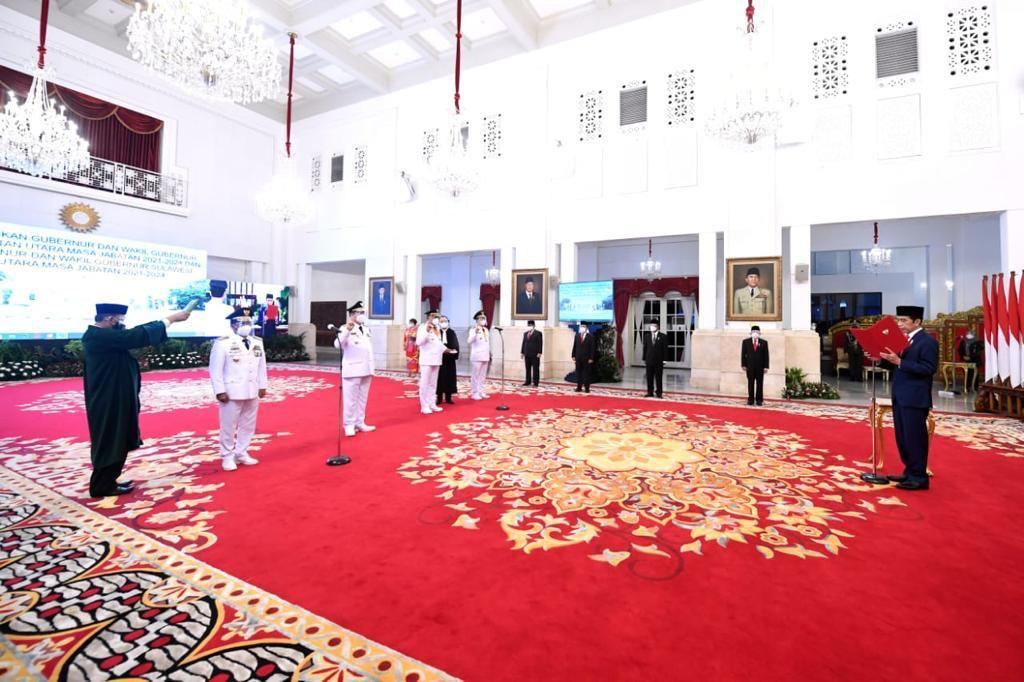 Permalink ke Presiden Jokowi Lantik Olly-Steven sebagai Gubernur dan Wagub Sulut 2021-2024