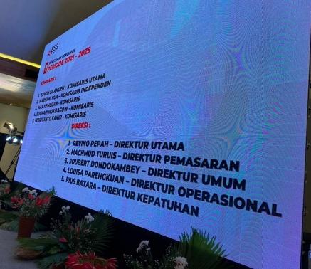 Permalink ke Jajaran BSG Dirombak, Revino Pepah Jabat Direktur Utama, Silangen Komisaris Utama